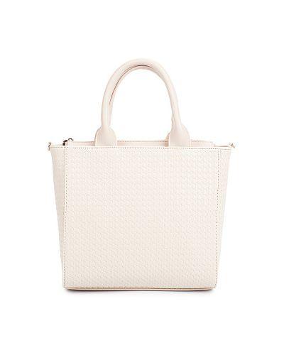 Бежевая сумка Savio