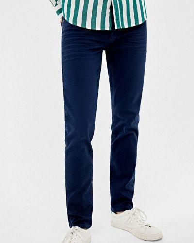 Зауженные брюки синий Springfield