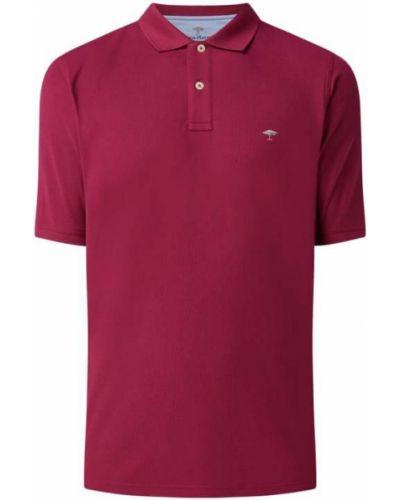 T-shirt bawełniana - różowa Fynch-hatton