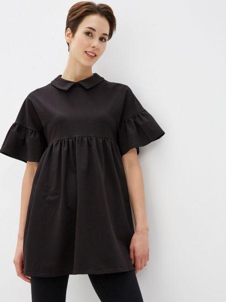 Платье черное платье-туника Numinou