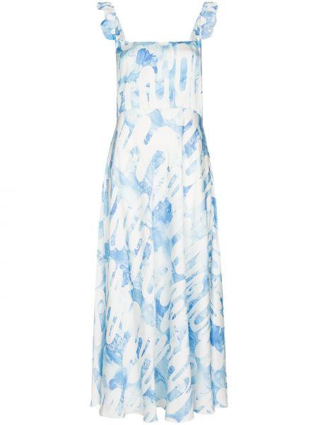 Sukienka midi - biała Collina Strada