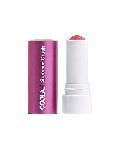 Бальзам для губ розовый натуральный Coola