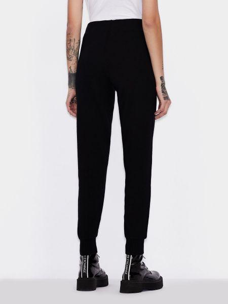 Спортивные брюки - черные Armani Exchange