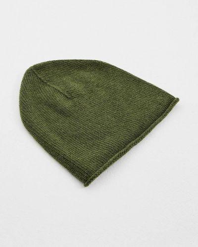Зеленая шапка осенняя Coccinelle