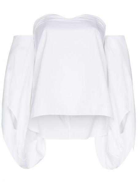 Хлопковая блузка - белая Rosie Assoulin