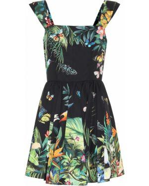 Платье мини сафари с принтом Dolce & Gabbana