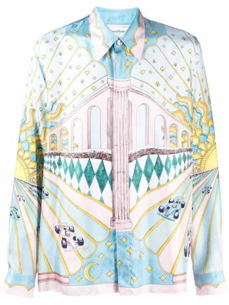 Рубашка с длинным рукавом - белая Casablanca