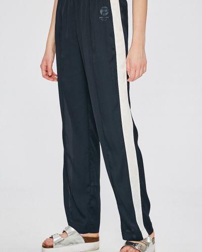 Брюки с завышенной талией на резинке свободные Pepe Jeans