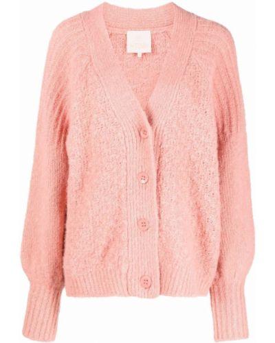 Różowy sweter bawełniany Bytimo