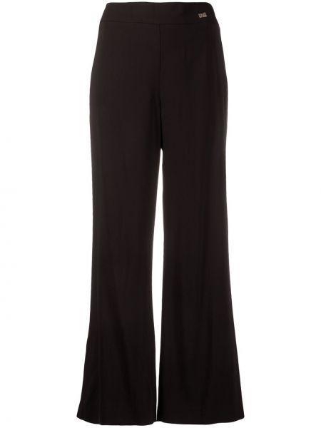 Черные свободные брюки Cavalli Class