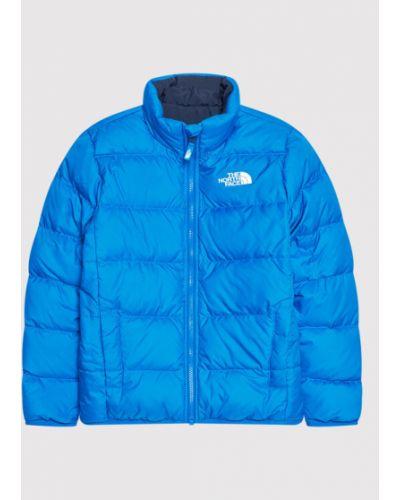 Kurtka puchowa - niebieska The North Face