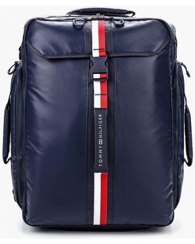Дорожная сумка кожаный Tommy Hilfiger