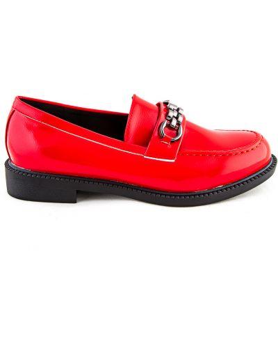 Красные весенние туфли Meitesi