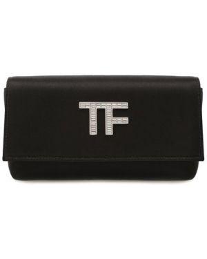 Текстильный клатч Tom Ford