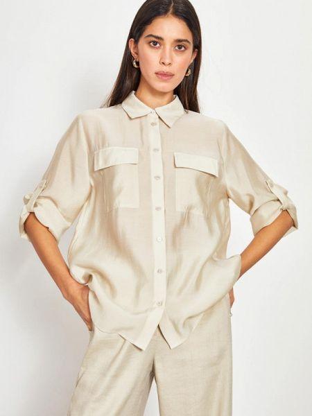 Блузка с длинным рукавом весенний салатовый Lime