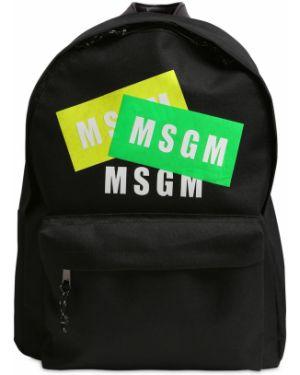 Plecak z logo brezentowy Msgm