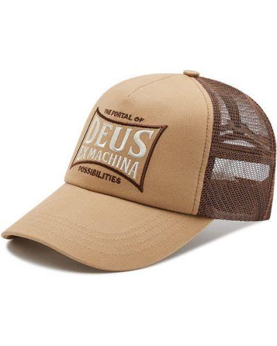 Beżowa czapka z daszkiem Deus Ex Machina