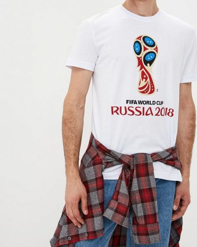 Белая футболка 2019 2018 Fifa World Cup Russia™