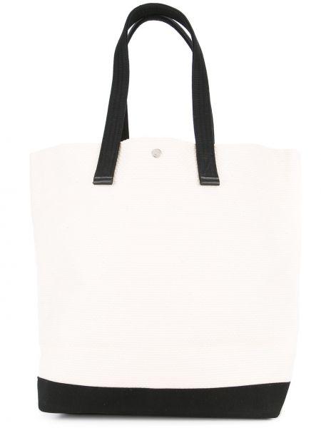 Вязаная сумка шоппер круглая с камнями Cabas