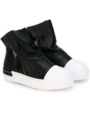 Черные ботинки из искусственной кожи Cinzia Araia Kids