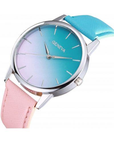Klasyczny różowy zegarek Geneva