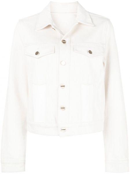 Джинсовая куртка с манжетами на пуговицах Dion Lee