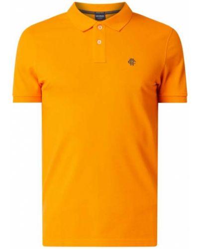 Pomarańczowy t-shirt bawełniany Mcneal