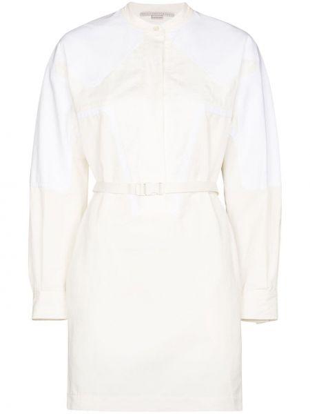 Хлопковое платье - белое Stella Mccartney