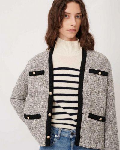 Серый пиджак Maje