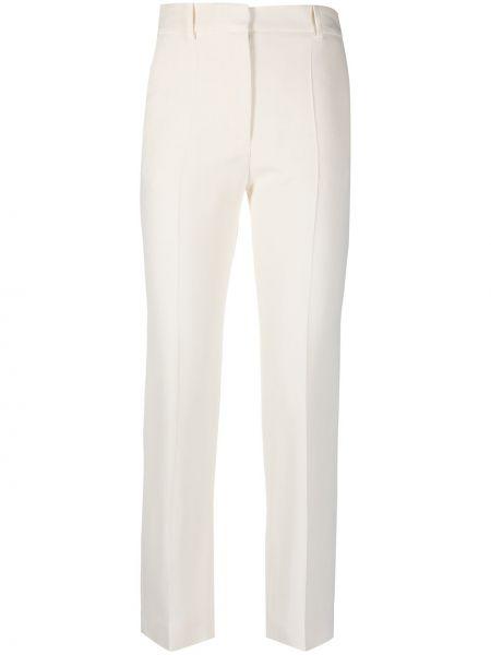 Укороченные брюки - белые Joseph