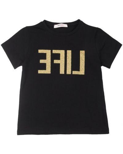 Czarna t-shirt Vicolo