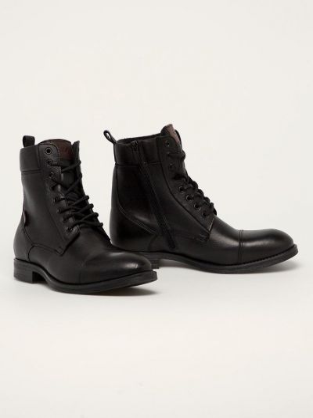Кожаные ботинки Wojas