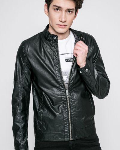 Кожаная куртка легкая прямая Blend