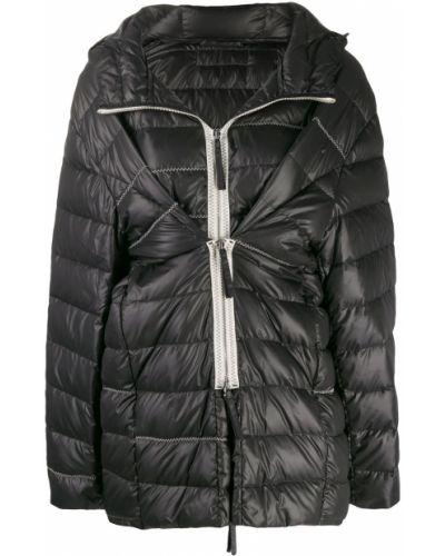Черная куртка с капюшоном Ruban