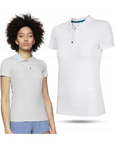T-shirt materiałowa - biała 4f