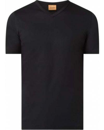 T-shirt bawełniana - czarna Mos Mosh
