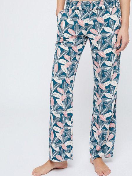 Синие домашние брюки Etam