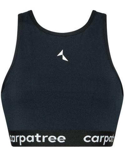 Czarny biustonosz sportowy Carpatree