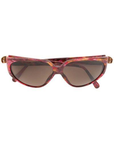 Муслиновые розовые солнцезащитные очки Paco Rabanne Pre-owned