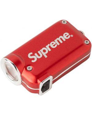 Брелок красный Supreme