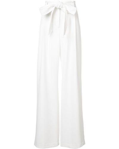 Расклешенные брюки с завязками Milly