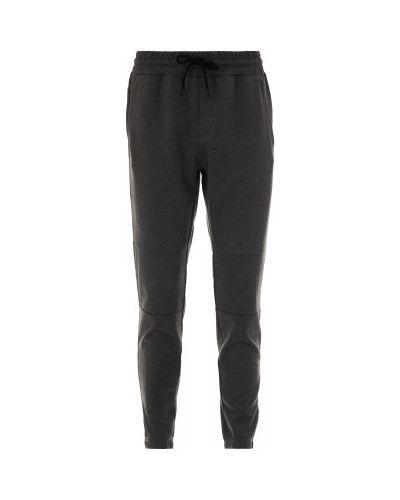 Спортивные брюки с карманами серые Kappa
