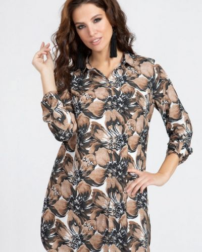 Бежевая блузка Prima Linea