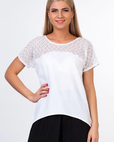 Блузка гипюровая белая Kapsula
