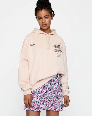Толстовка розовый Pull&bear