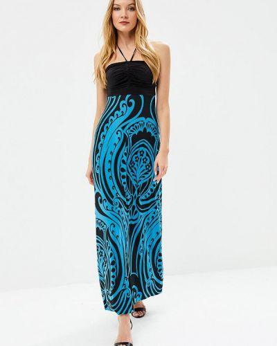 Голубое платье весеннее City Goddess
