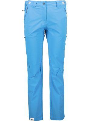 Niebieskie spodnie sportowe materiałowe Trimm
