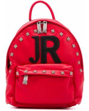 Черная сумка на плечо John Richmond Junior