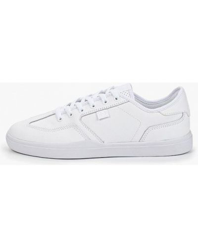 Низкие кеды белые Dc Shoes
