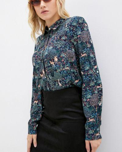 Блузка с длинными рукавами - синяя Zolla